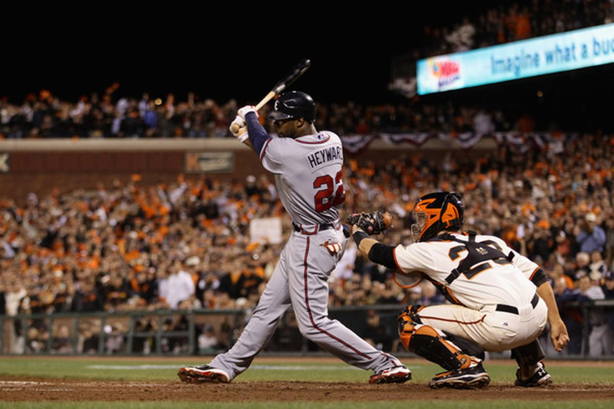 Something tells me that Jason Heyward and Buster Posey are going to be fighting it out for postseason awards for years to come.