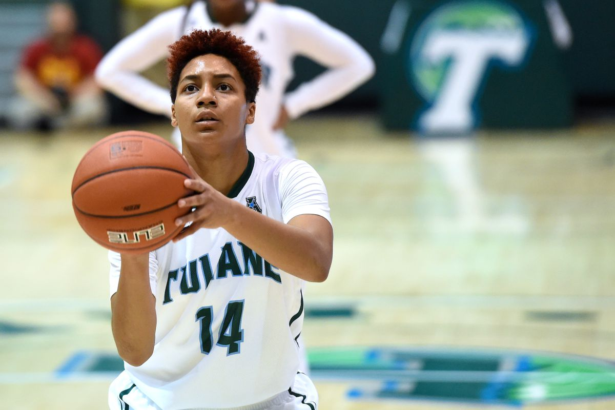 Taylor Emery is already making waves with Tulane basketball.