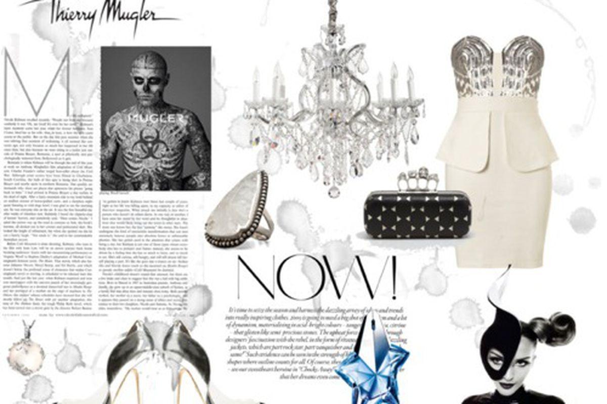 "Mugler fashion set via <a href=""http://www.polyvore.com/cgi/contest.show?id=352419&amp;preview_contest=MzUyNDE5&amp;type=details"">Polyvore</a>"