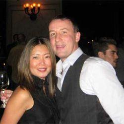 Ria executive chef Jason McLeod and wife Jana