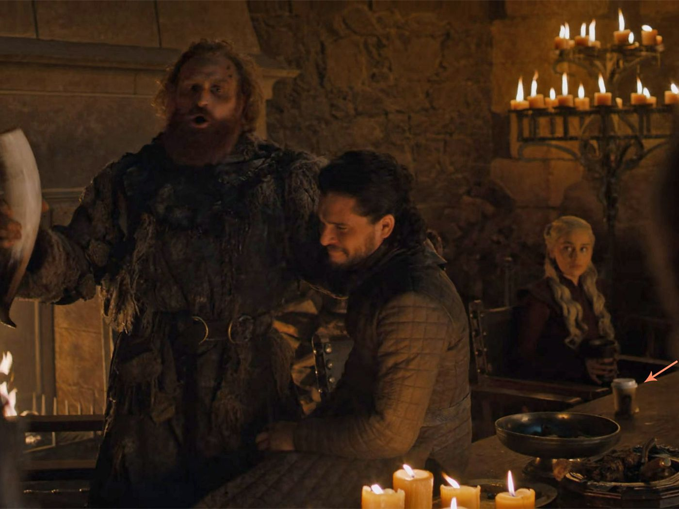 Is That A Starbucks Cup In Game Of Thrones The Verge