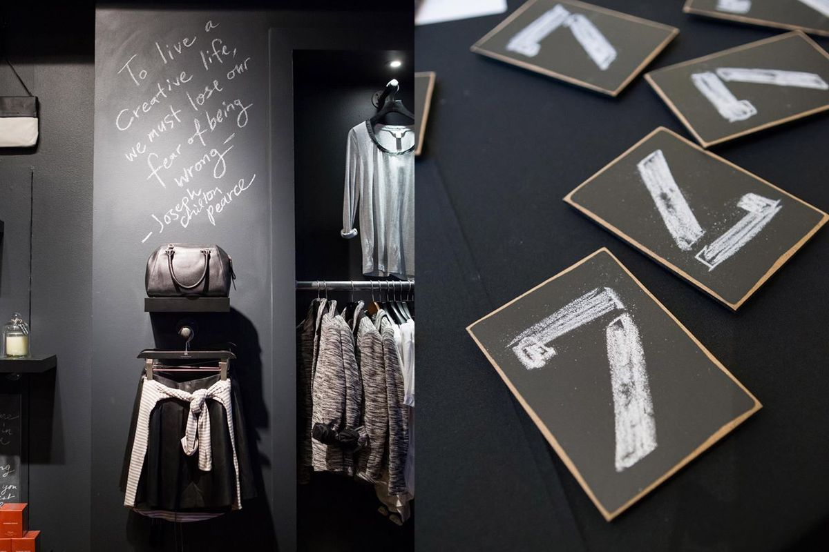 """Images from the Room 7 launch party by <a href=""""http://www.drewaltizer.com"""">Drew Altizer</a> via Banana Republic/<a href=""""https://www.facebook.com/BananaRepublic/photos/pb.15524934075.-2207520000.1408564746./10152586296404076/?type=3&amp;theater"""">Fa"""