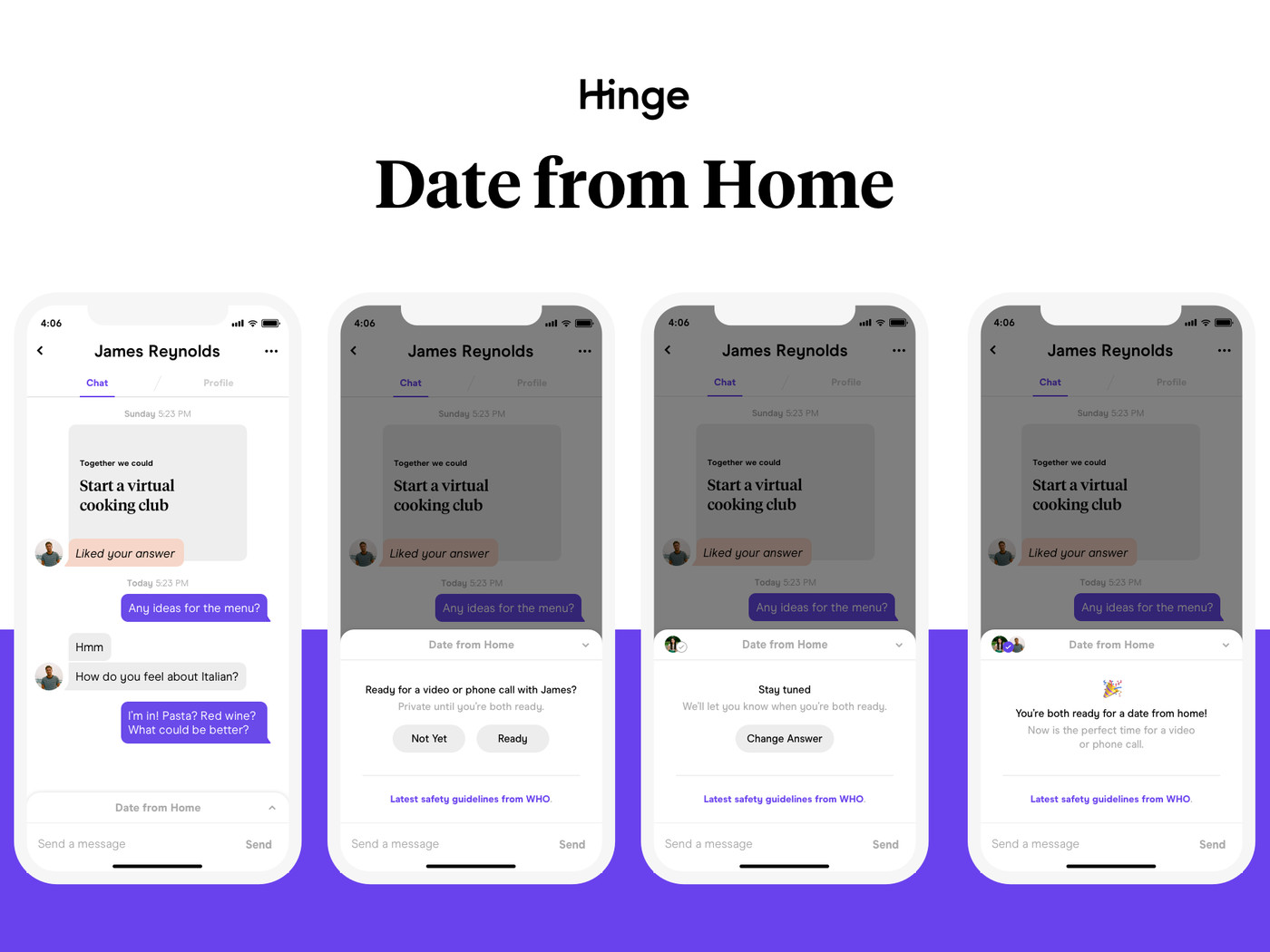 Hinge Will Let People Tap A Button To Say They Re Ready For A Video Call Date The Verge