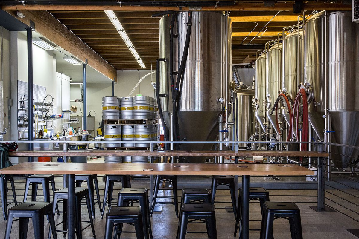 A Look Inside Reuben's New Brewery and Taproom, Open Today