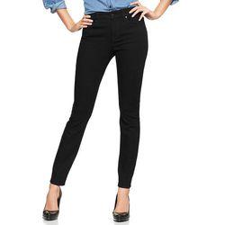 """<b>Curvy:</b> <b>Gap</b> 1969 Curvy Skinny Black Jeans, <a href=""""http://www.gap.com/browse/product.do?cid=1005811&vid=1&pid=942454002"""">$69.95</a>"""