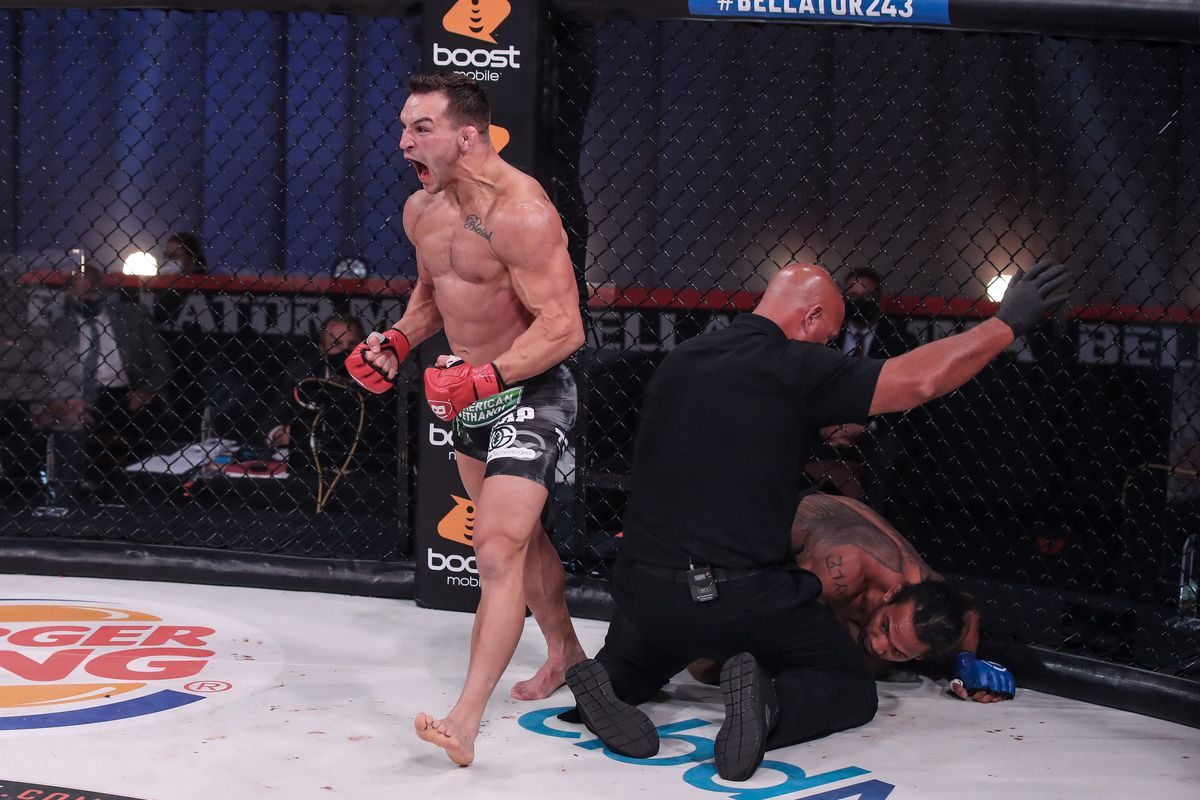 Michael Chandler wants to 'put a stamp' on UFC debut by finishing Dan Hooker, possibly 'entice' Khabib Nurmagomedov to return - MMA Fighting