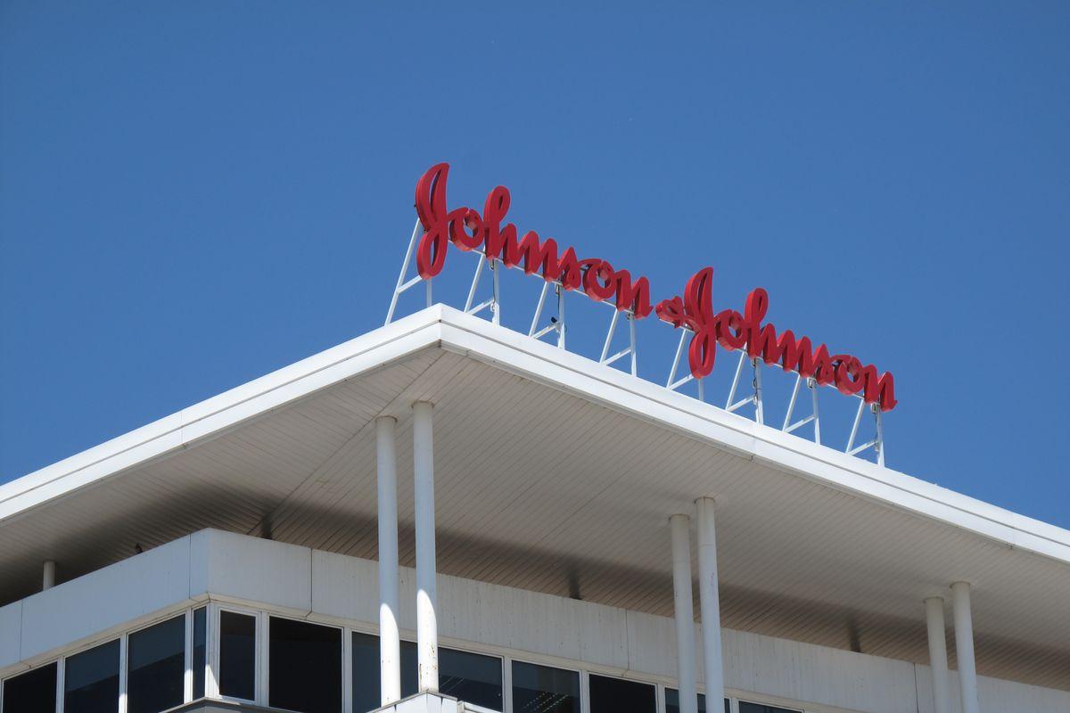 The Johnson & Johnson building in Madrid.
