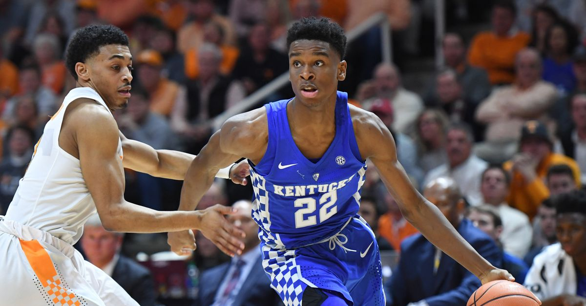 Uk Basketball: Kentucky Wildcats Basketball Vs Tennessee Vols 2018: Game