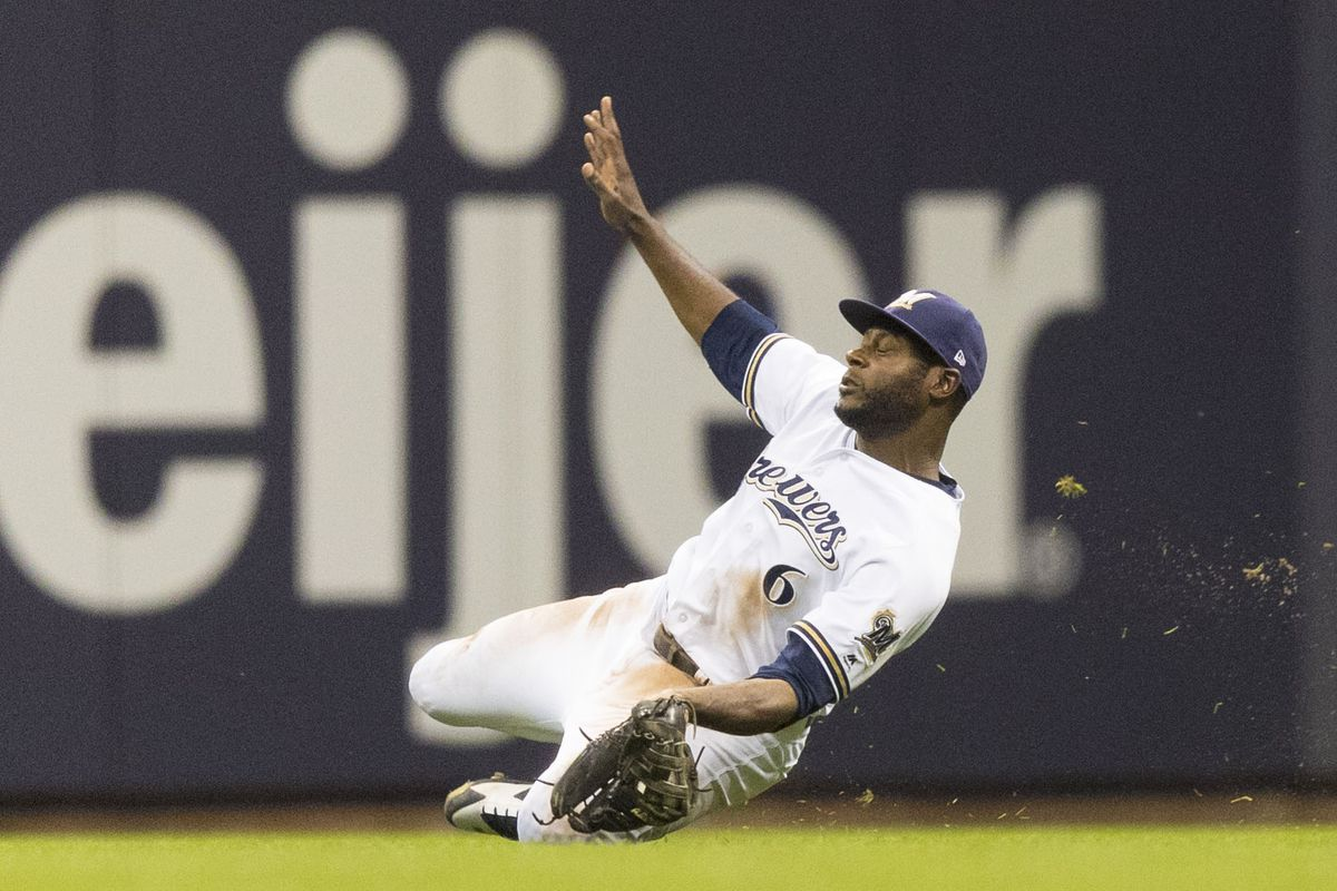 Image result for lorenzo cain wall grab