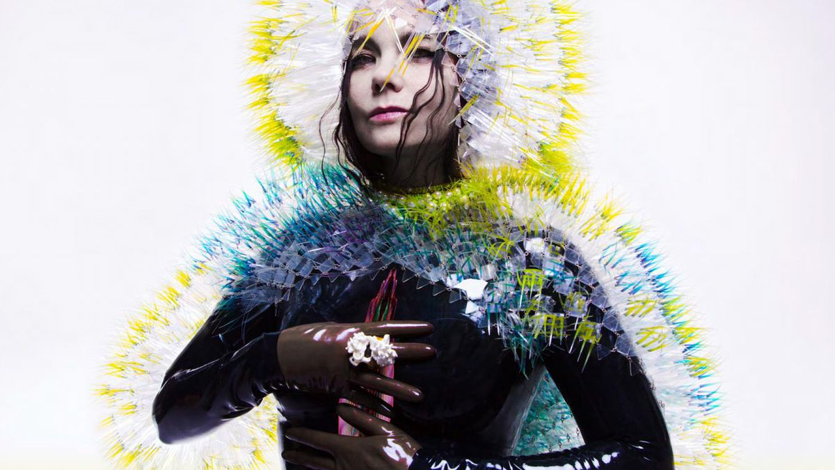 The cover of Bjork's new album, Vulnicura