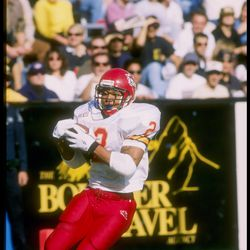 Iowa State almost knocked off #7 Colorado in 1996, losing 42-49.