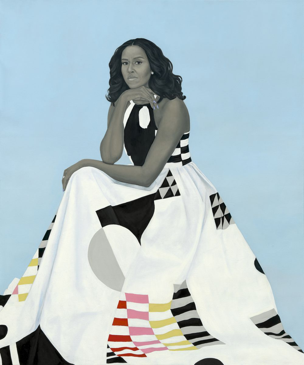 Official portrait of Michelle Obama