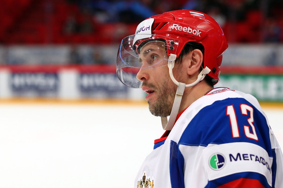The more pictures I see of Datsyuk in this jersey, the madder I get.