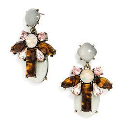 """Bliss drop earrings, <a href=""""http://www.baublebar.com/bliss-drops-earrings.html"""">$34</a>"""