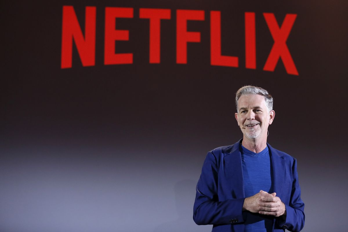 Netflix CEO Reed Hastings says the obvious  he won t be working with Apple  when it launches its new video plans efcdc05fcd748