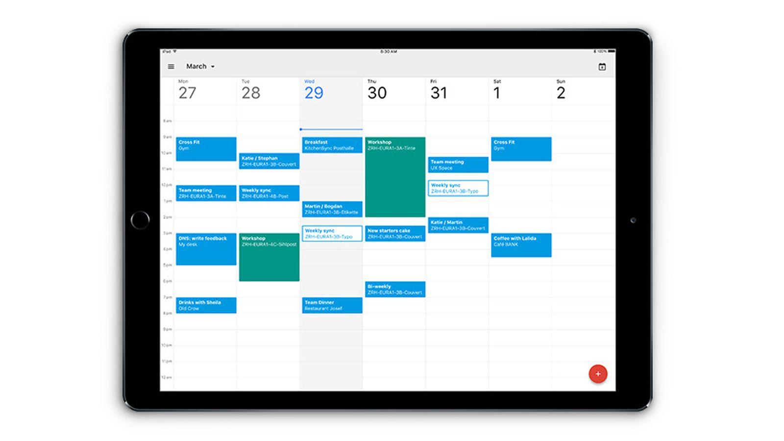 Calendars App