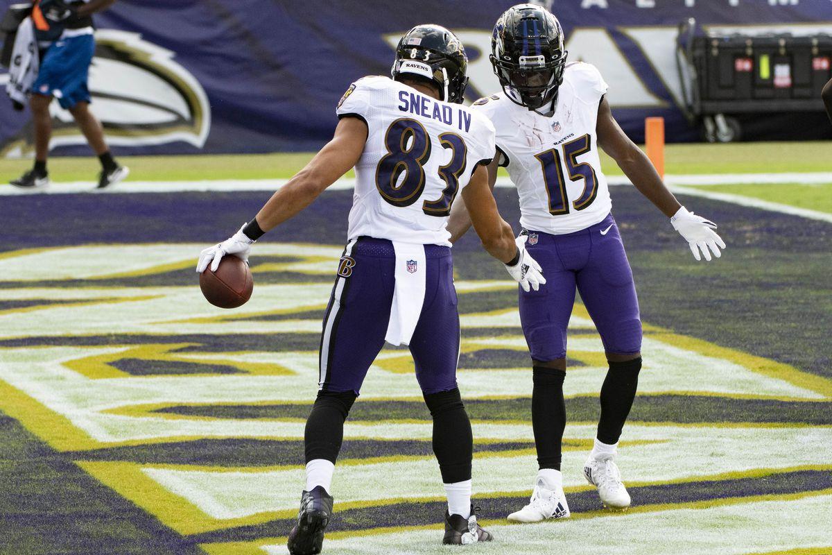 NFL: Cleveland Browns at Baltimore Ravens