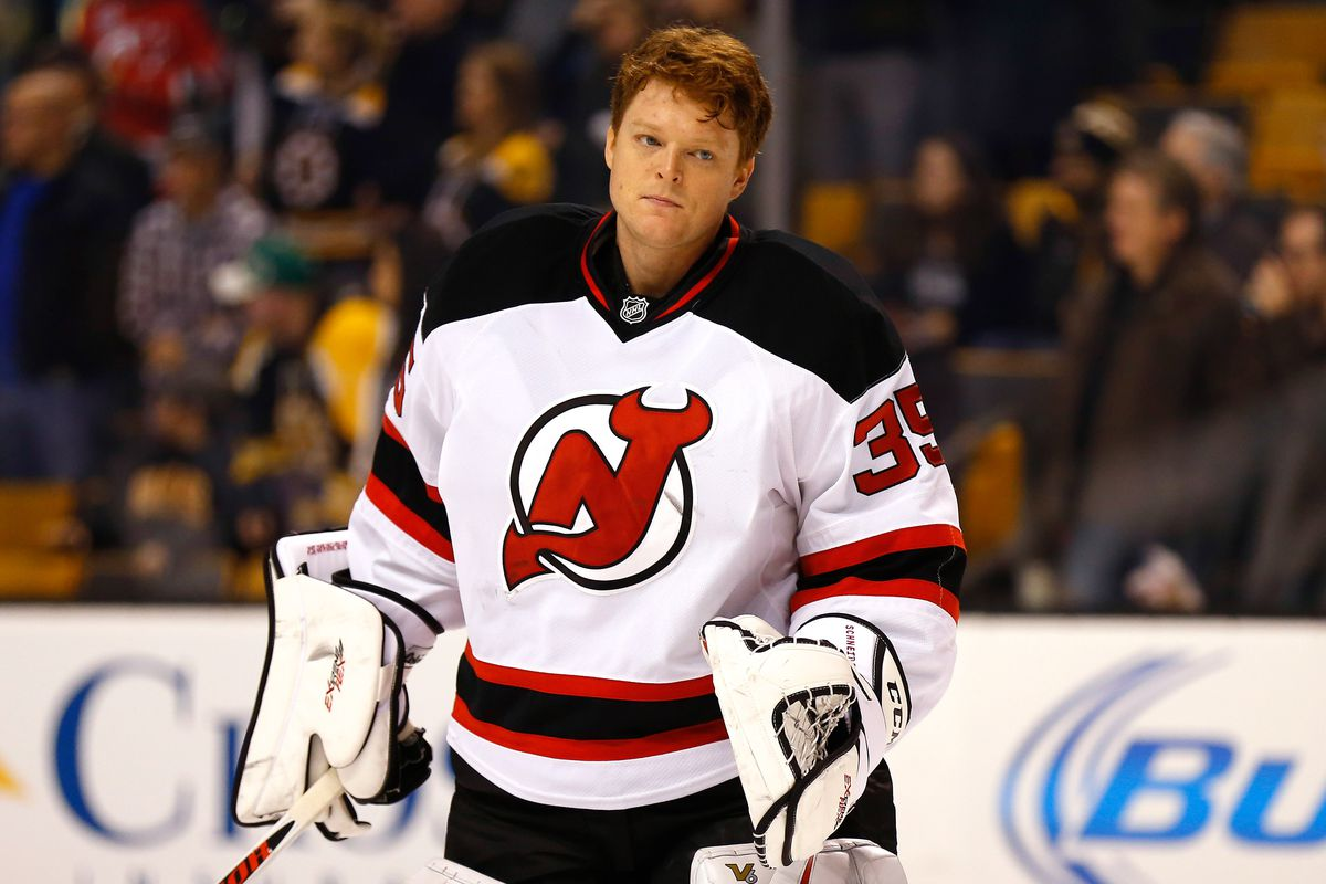 Expect Cory Schneider.  Note: this picture is from the Boston game.