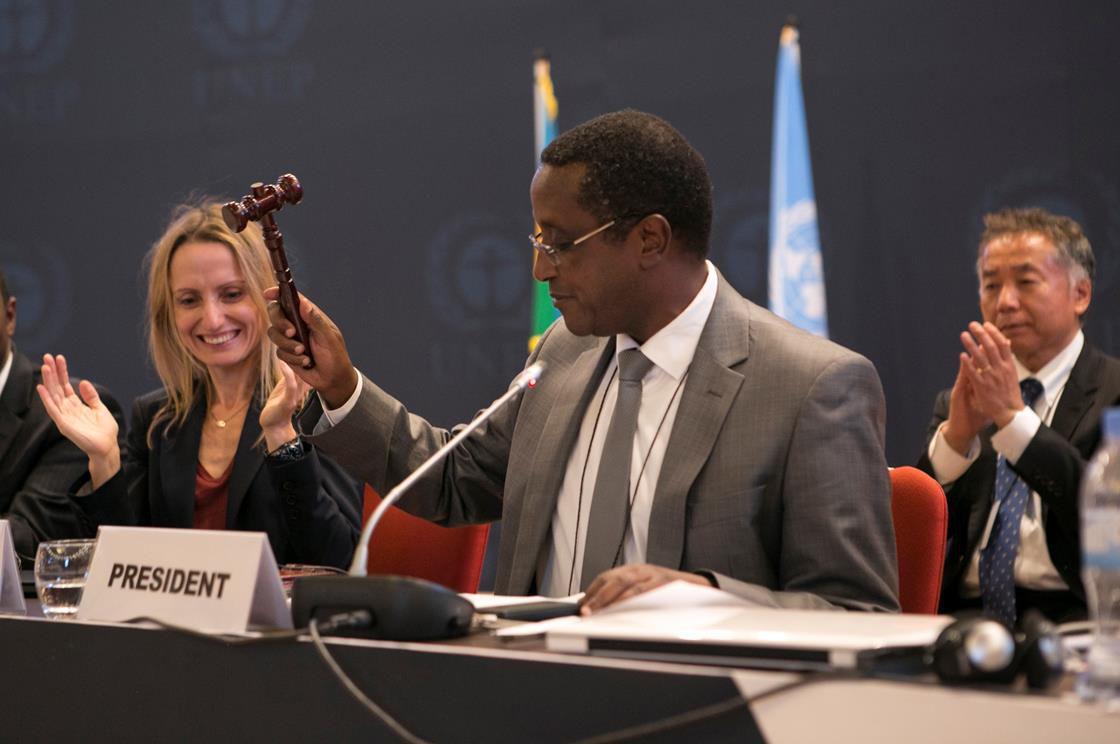 Climate committee meeting in Rwanda