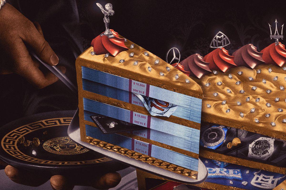 "DJ-Q's ""Plenty Cake"" artwork"