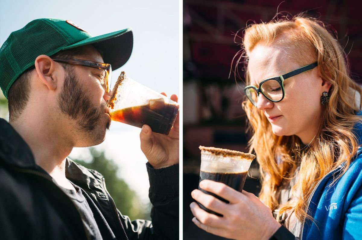 S'Mores Beer Reaction