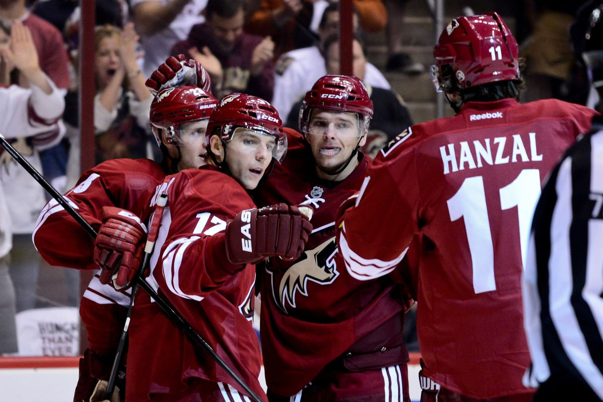 The Coyotes come into tonight's game riding a 4-game home winning streak.
