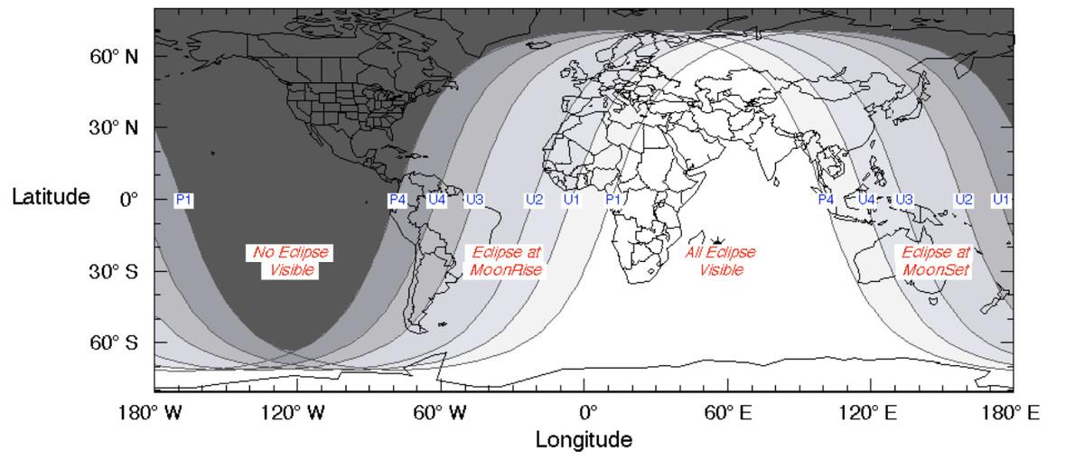 eclipse on 27 july 2019
