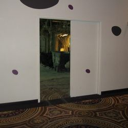 The open door to the new Nobu Tower at Caesars Palace.