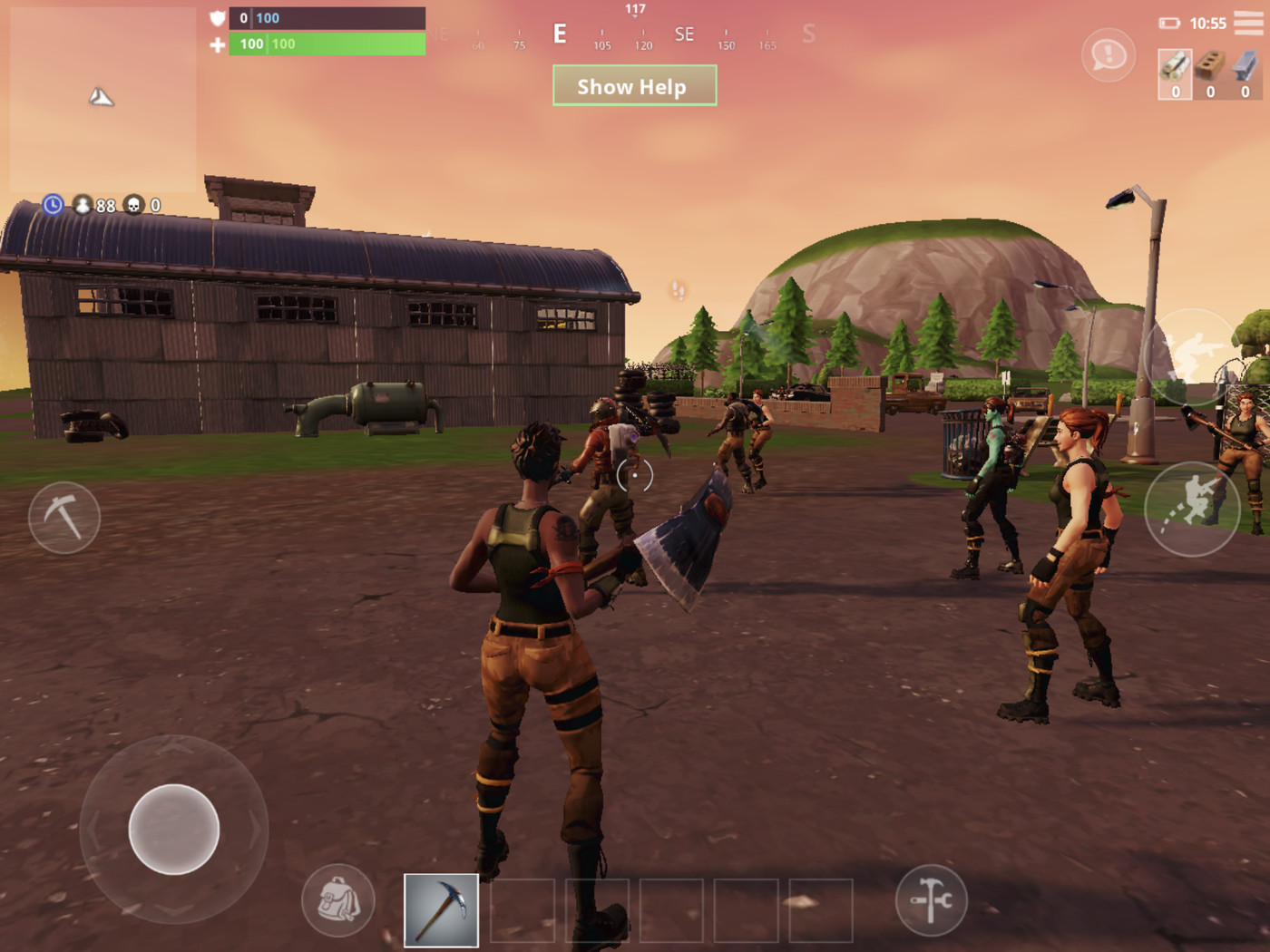 Fortnite on an iPhone X is an exciting look at the future of