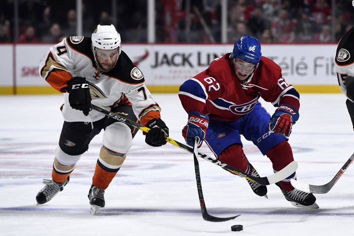 7060ec5a9 Montreal Canadiens vs. Anaheim Ducks
