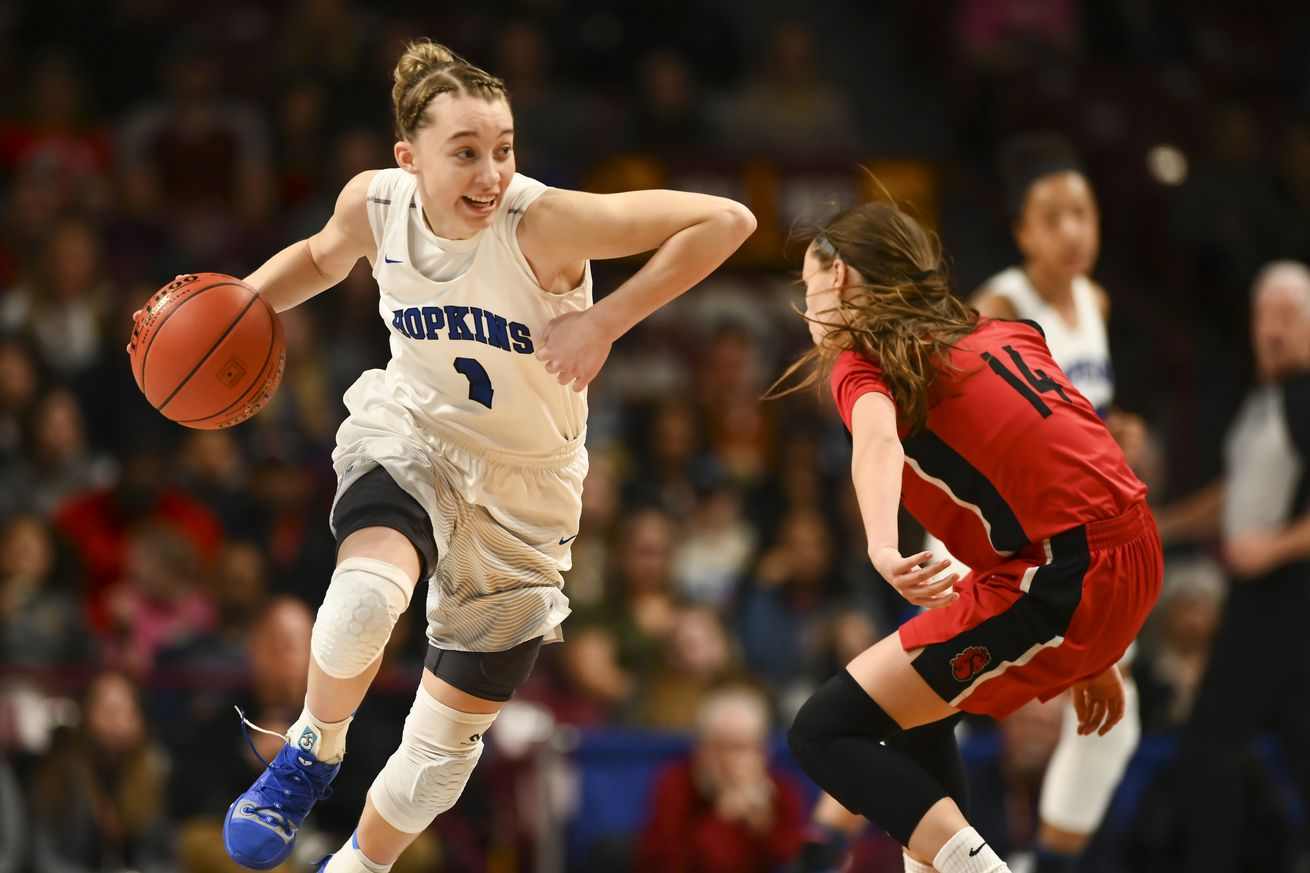 Hopkins Paige Bueckers plays during the 2019 season