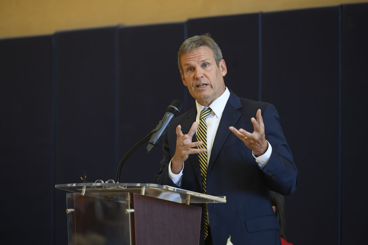 Gov. Bill Lee, a Republican businessman from Williamson County, took office in January of 2019.