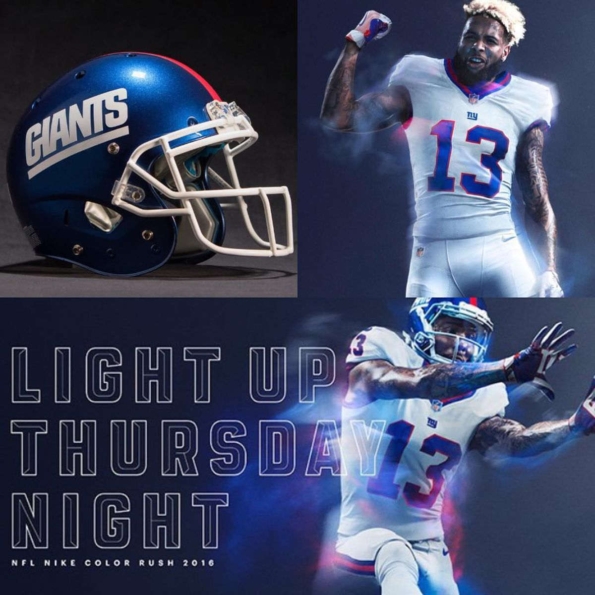 """Giants To Wear """"Color Rush"""" Uniforms Week 14 Against"""
