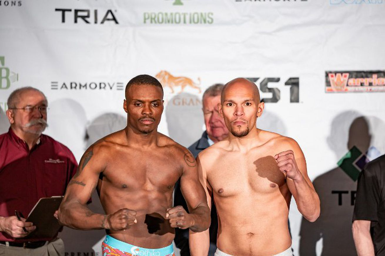 quillintruax.0 - Quillin-Truax ends in no contest due to clash of heads