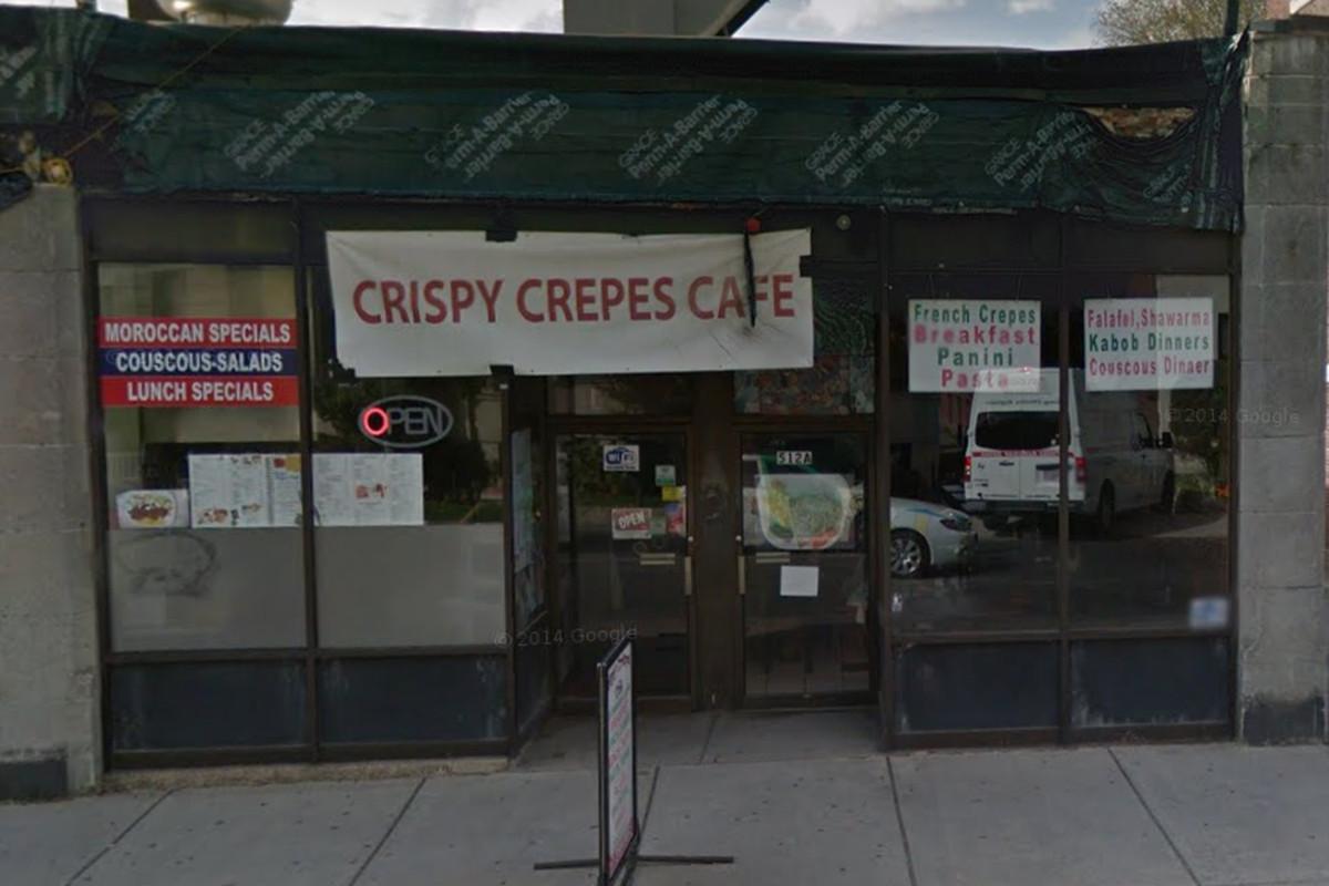 Crispy Crêpes Cafe on Park Drive