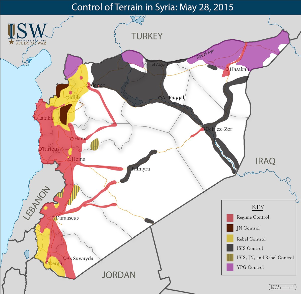syria map control may 28