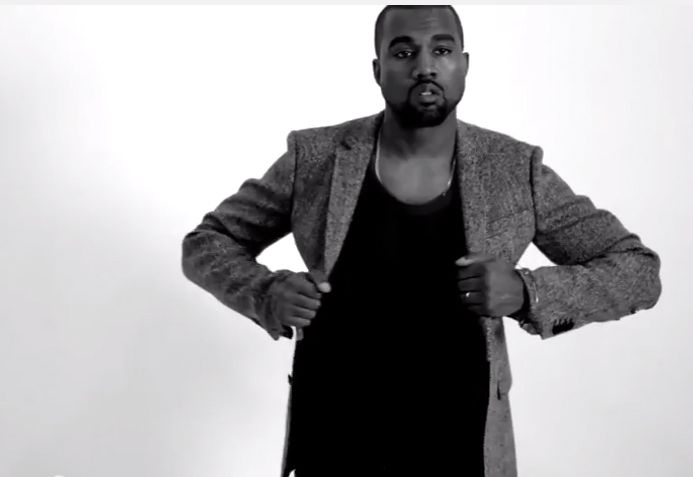Kanye Compares Himself to Michelangelo in Bonkers GQ Video - Racked
