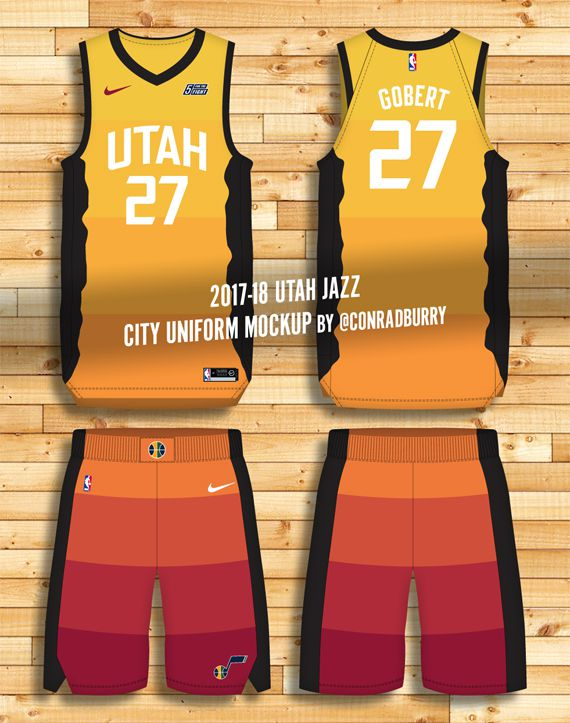 quality design 9b30c b2997 First Look: Possible preview of Utah Jazz's City Uniforms ...