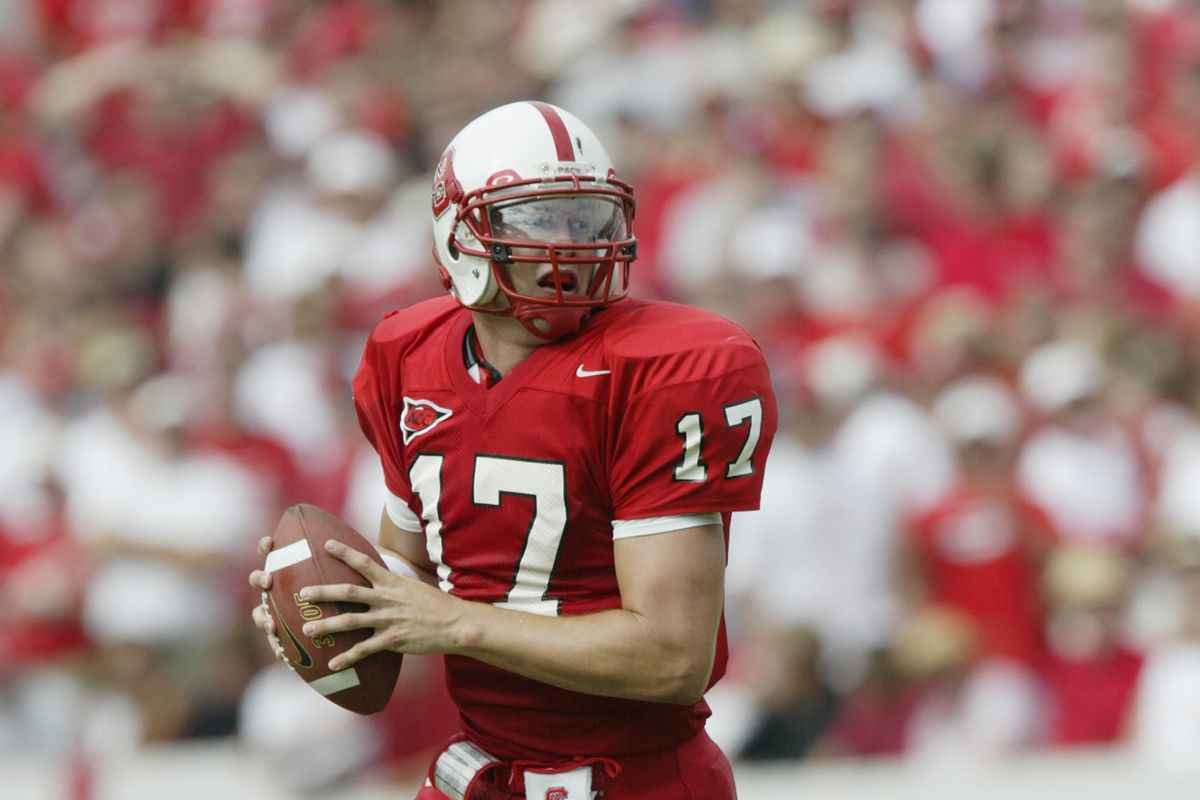Philip Rivers is back at NC State and showing off his trick shot