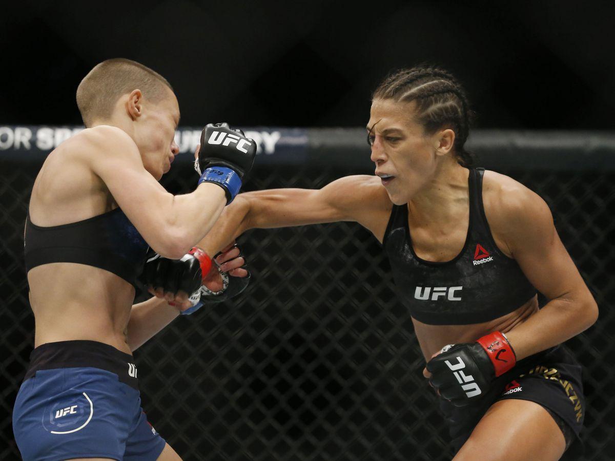 MMA: UFC 217-Jedrzejczyk vs Namajunas