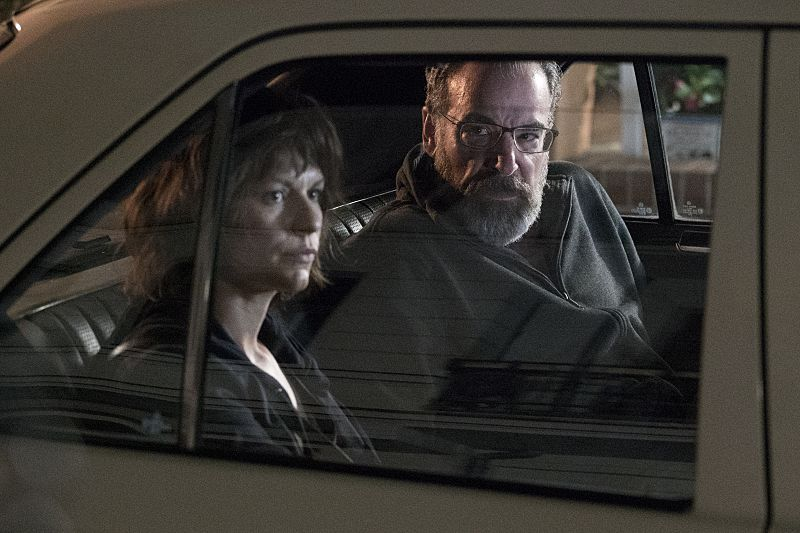 Carrie and Saul on Homeland.