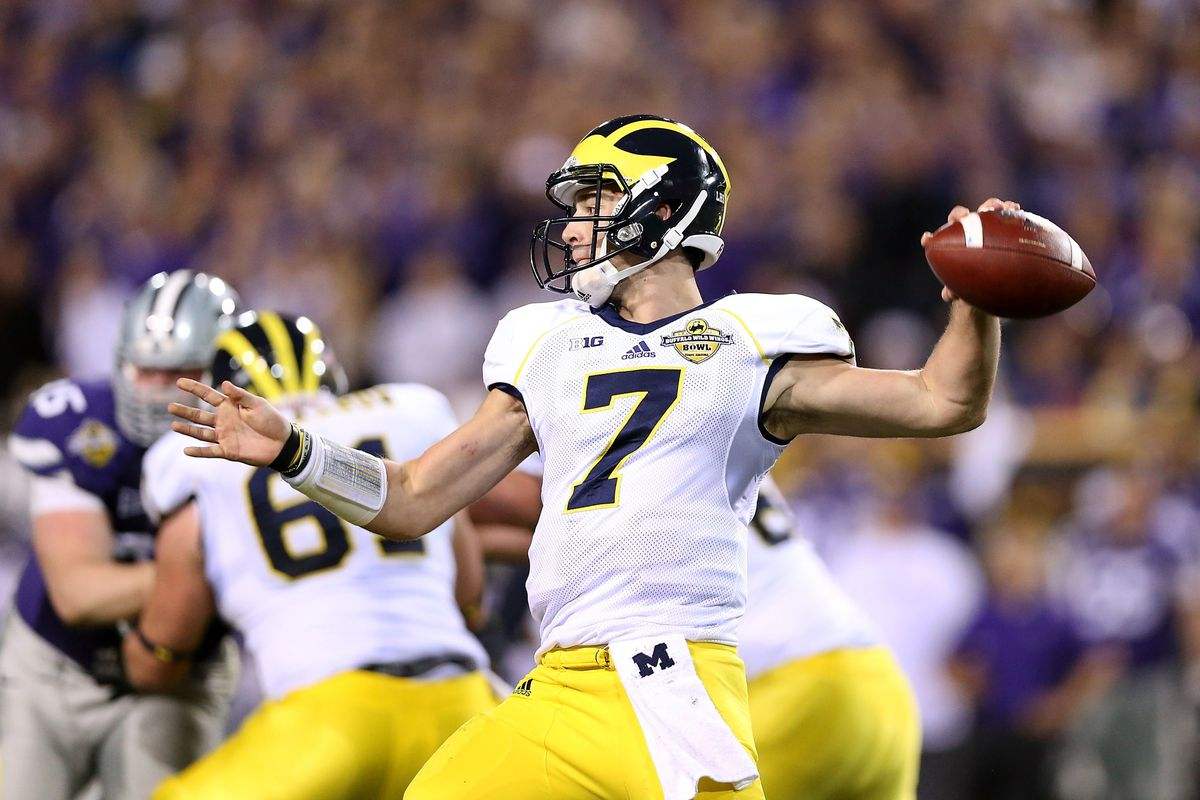 One day, Shane Morris will be the No. 1 QB in Ann Arbor. But he'll have to fend off Wilton Speight to keep that position.