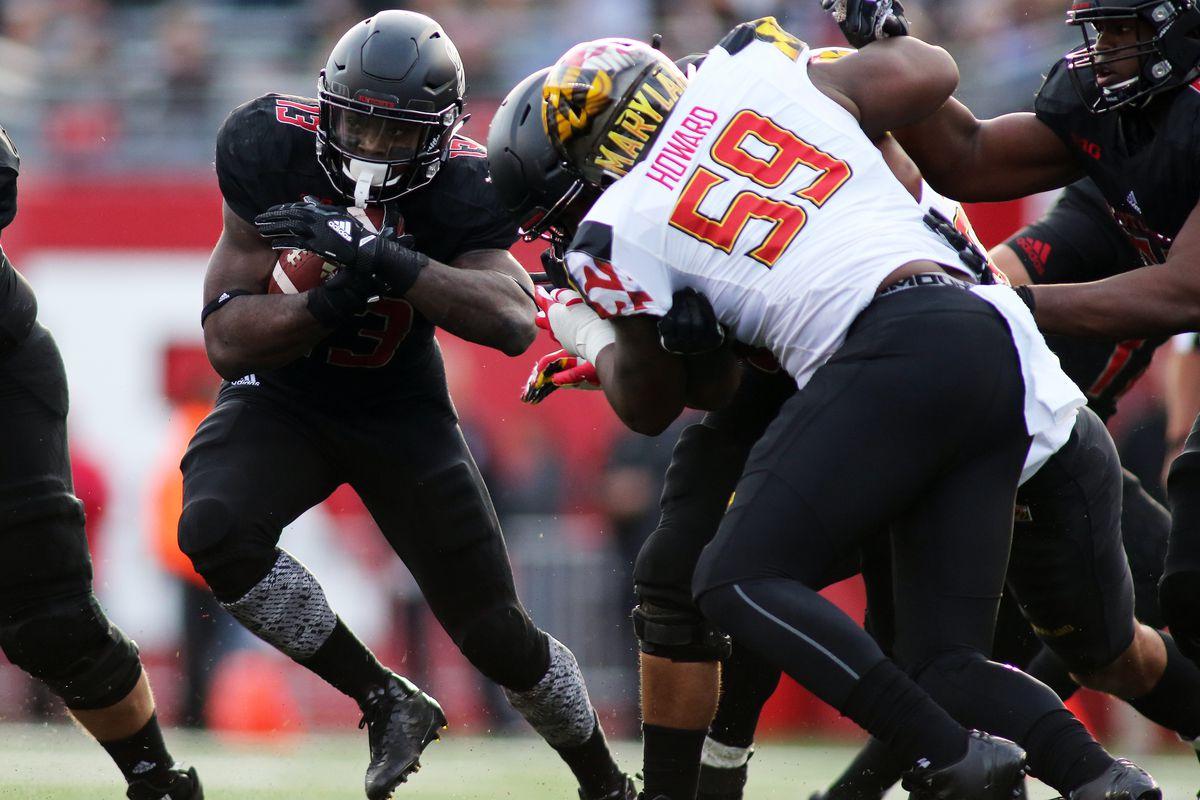 COLLEGE FOOTBALL: NOV 04 Maryland at Rutgers