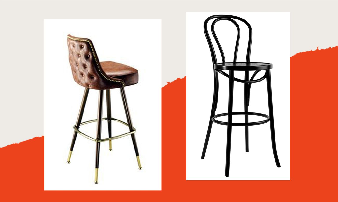 Strange The Restaurant Bar Stools Youll Want To Buy For Your Own Bralicious Painted Fabric Chair Ideas Braliciousco