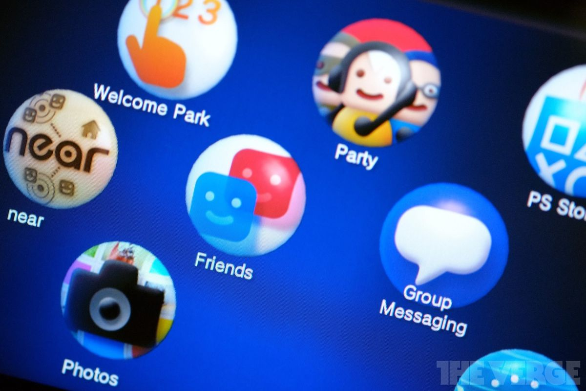 ps vita home screen bubbles