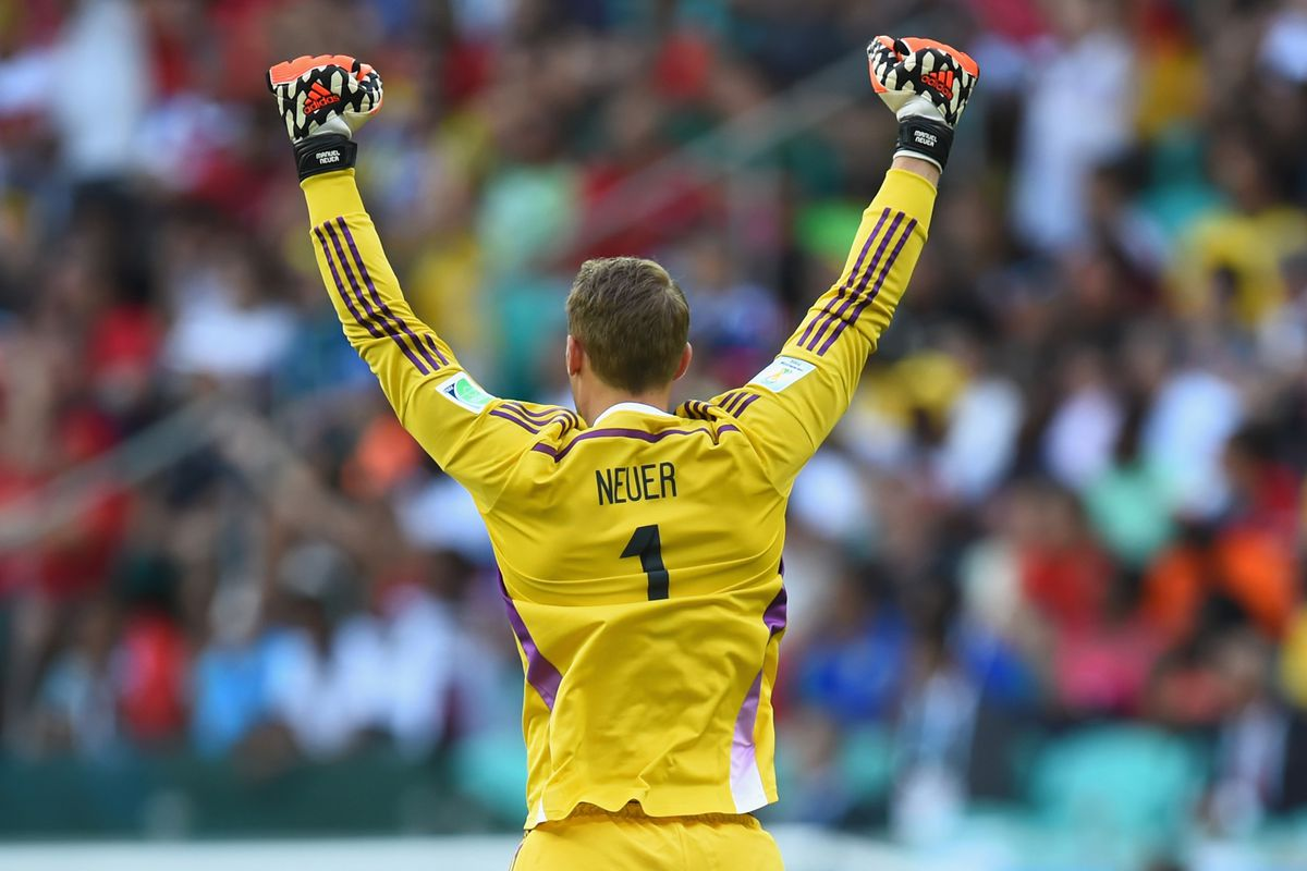 This Neuer guy is kind of good.