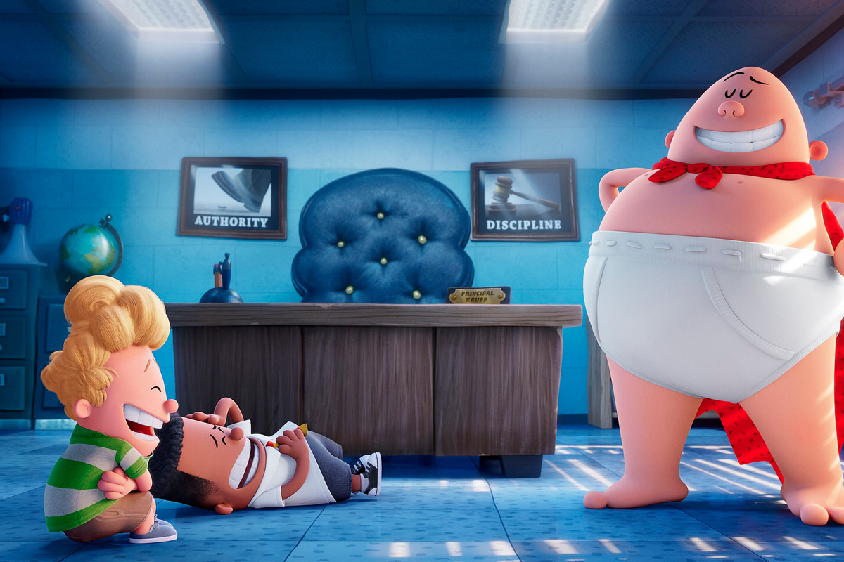 Captain Underpants Is The No 2 Movie In America For A