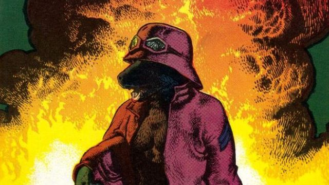 The cover of the second printing of Rowlf by Richard Corben