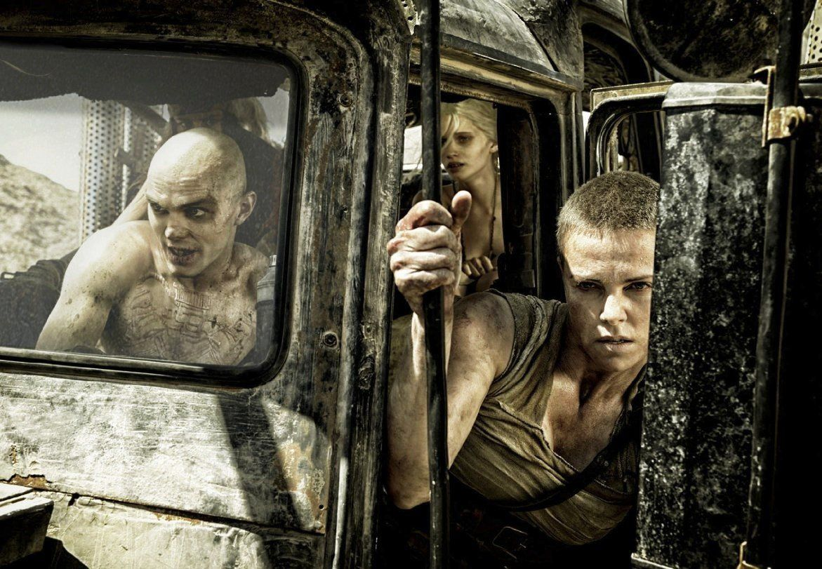 Charlize Theron stars in Mad Max: Fury Road.