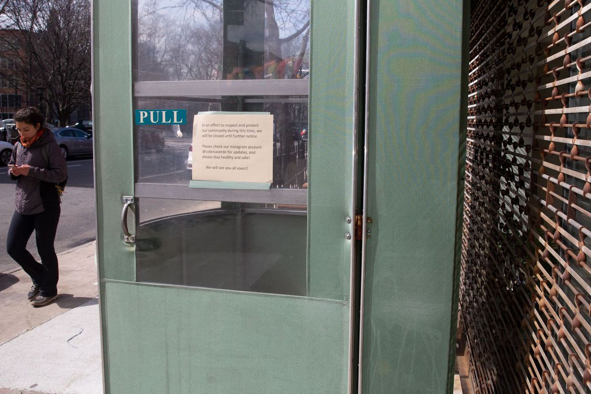 Fort Greene-based Colonia Verde announced their closure to protect against the spread of the coronavirus.